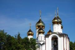 修道院nikolsky pereslavl 库存图片