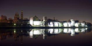 修道院novodevichy俄国 免版税图库摄影