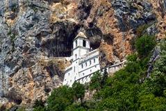 修道院Ostrog 免版税图库摄影