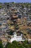修道院Ostrog 库存照片