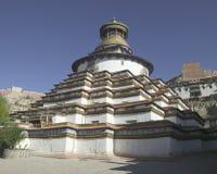 修道院palkhor西藏 图库摄影