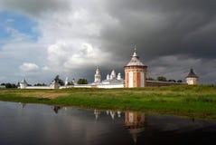 修道院prilutskiy spaso 库存图片