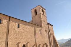 修道院S 弗朗切斯科在翁布里亚 库存图片