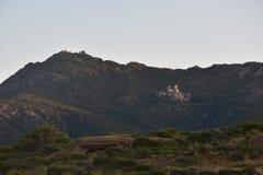 修道院Sant Pere de Rodes 免版税库存图片