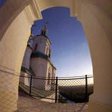 修道院slavyanogorsk 免版税图库摄影