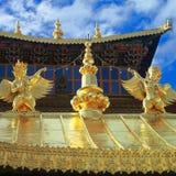 修道院songzanlin 图库摄影