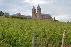 修道院St Hildegard 库存照片