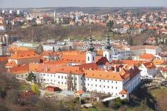 修道院strahov 库存图片