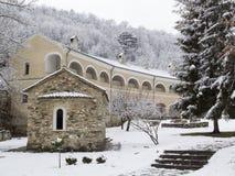 修道院Studenica,塞尔维亚,联合国科教文组织世界遗产 免版税库存图片
