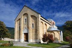 修道院studenica 库存照片