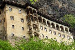 修道院sumela 图库摄影