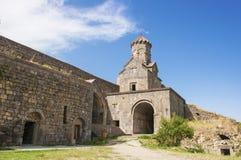 修道院Tatev 圣Astvatsatsin教会  免版税库存图片
