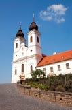 修道院tihany本尼迪克特的匈牙利 库存照片
