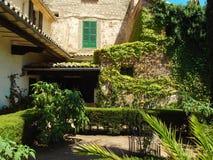 修道院Valldemossa,马略卡细节 免版税库存照片