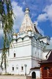 修道院vladychny俄国的serpukhov 免版税库存照片