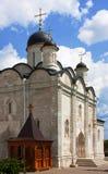 修道院vladychny俄国的serpukhov 图库摄影