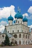 修道院vysotsky俄国的serpukhov 库存图片
