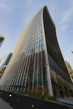 修建伦敦的携带无线电话 天空庭院 免版税库存图片