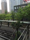 修建台北的商城 免版税库存图片