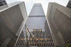 修建纽约,美国的Mcgraw小山 免版税库存图片