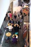 俯视星巴克咖啡店 库存照片
