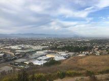俯视的洛杉矶 库存图片
