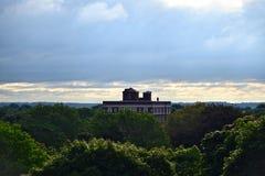 俯视的罗切斯特NY的市地平线 图库摄影