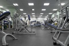 俱乐部健身 图库摄影