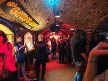 洞穴俱乐部在利物浦 免版税图库摄影