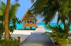 俱乐部热带潜水的海岛 免版税库存图片