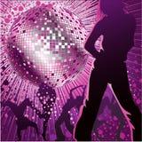 俱乐部跳舞晚上人 皇族释放例证