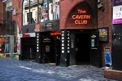 洞穴俱乐部,利物浦 库存照片