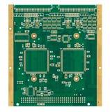 倒空印刷电路板(PCB) 图库摄影