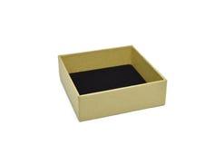 倒空在白色背景或纸板箱隔绝的纸箱 免版税库存照片