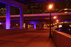 倒空晚上街道 图库摄影
