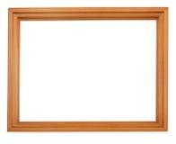 倒空木的框架 库存照片