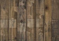倒空礼物的木桌地板并且显示产品,复制投入的对象空间对显示 库存图片