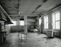 倒空老厨房 库存照片