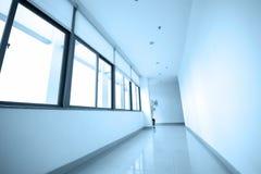 倒空长的走廊 免版税图库摄影