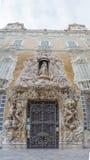 候爵de多萨瓜斯,全国陶瓷博物馆Gonzale宫殿  免版税库存图片