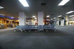 候诊室在2015年6月12日的机场,在Sharm El谢赫,埃及 库存照片