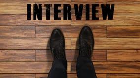 候选人为面试,脚为新的职场今后跨步的人做准备 影视素材