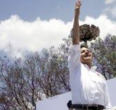 候选人墨西哥总统pri 免版税库存照片