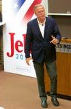 总统候选人杰布・布什 库存照片