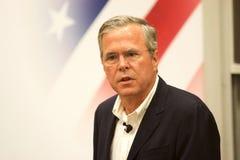 总统候选人杰布・布什 免版税图库摄影