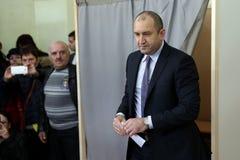 总统候选人瘤胃Radev 免版税图库摄影