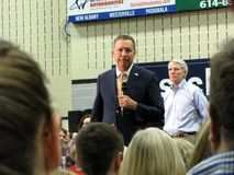 总统候选人约翰Kasich 免版税图库摄影