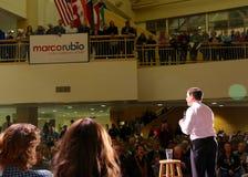 总统候选人马克罗・鲁比奥参议员 图库摄影