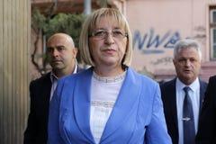 总统候选人Tsetska Tsacheva 图库摄影