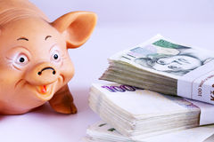 债券计算器可能容易地更改概念记事本美元经济招待信包登记货币拥有笔节省额储蓄几税务他们到您 库存图片